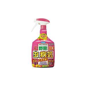 フマキラー 殺虫・殺菌剤 カダンプラスDX 1100ml e-hanas
