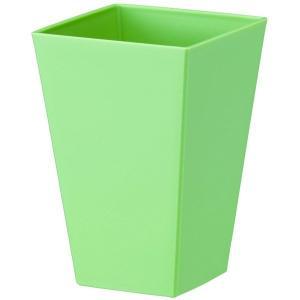 鉢 プラスチック ミニ観 クエンチポット S-100 アッシュグリーン 大和プラスチック アウトレット|e-hanas