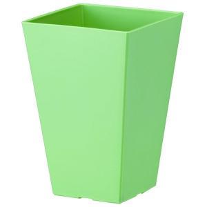 鉢 プラスチック ミニ観 クエンチハイポット 4号 アッシュグリーン 大和プラスチック アウトレット|e-hanas