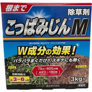 レインボー薬品 除草剤 こっぱみじんW 3kg ポイント10倍|e-hanas