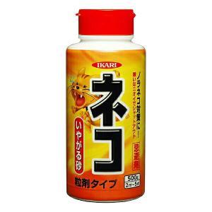 イカリ消毒 ネコ専用いやがる砂 粒剤タイプ 500g|e-hanas