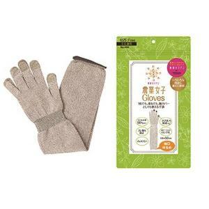 東和コーポレーション 園芸用手袋 農業女子Gloves ライトブラウン フリー メール便対応4点まで|e-hanas
