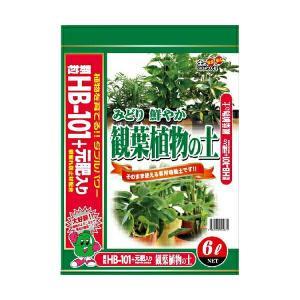 HB-101観葉植物の土 6L|e-hanas