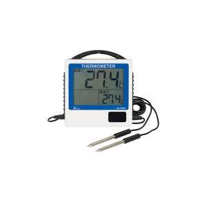 温度 防水 園芸 デジタル温度計 G-2 二点隔測式 防水型 73046 シンワ測定