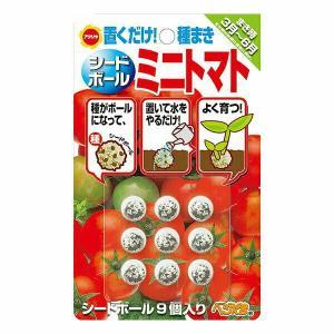 プレミアム会員15倍 アタリヤ農園 野菜種 シードボールミニトマト 9個入り メール便対応 (B11-011)|e-hanas