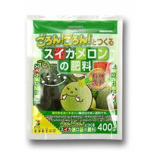 【花ごころ】【肥料】スイカ・メロンの肥料 400g