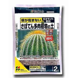 花ごころ 園芸用用土 細粒 サボテン多肉植物の土 2L ポイント15倍|e-hanas