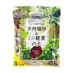 花ごころ 多肉植物・ミニ観葉の土 0.5L ポイント15倍|e-hanas