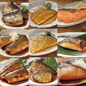 ゆう屋のお魚惣菜9種セット<9パックセット>