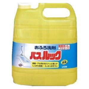 業務用 おふろ洗剤 バスルック 4L ライオン|e-hiso