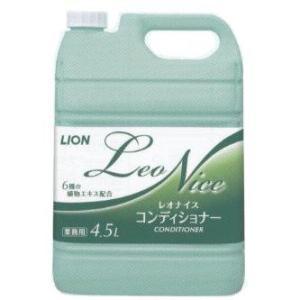 レオナイス コンディショナー 4.5L Leo Nice ライオンハイジーン 業務用|e-hiso