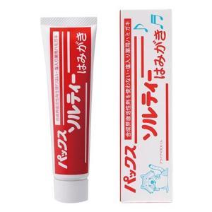 パックス ソルティーはみがき 80g 太陽油脂 歯磨き粉|e-hiso