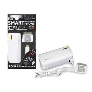 スマートフォンチャージ M818  乾電池式充電器 【For SMARTPhone】 トップランド|e-hiso