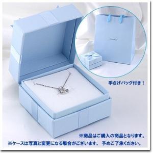 オープンハート モチーフ ホワイトゴールド ガーネット(1月誕生石) ダイヤモンド ネックレス ビジュー e-housekiya 05