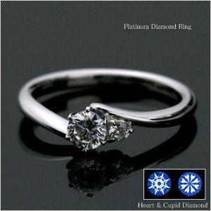 婚約指輪 エンゲージリング ダイヤモンド プラチナ リング (納期約3週間) 大粒|e-housekiya