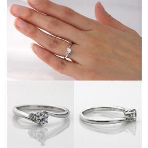 婚約指輪 エンゲージリング ダイヤモンド プラチナ リング (納期約3週間) 大粒|e-housekiya|02