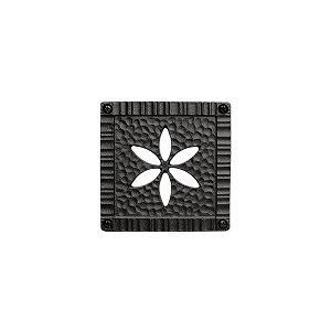 妻飾り 壁飾りパネル壁飾り 1型 シンボル アイアン風壁飾り アルミ鋳物 エクステリア 外壁工事|e-housemania