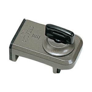 防犯 窓ロック 防犯グッズ 窓のカギ 鍵 ウインドロック ブロンズ カギ付き 上枠・下枠兼用 サッシ用補助錠|e-housemania