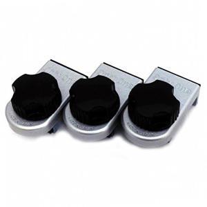 防犯 窓ロック 防犯グッズ 窓のカギ 鍵 ウインドロック ZERO 3個入り シルバー  カギ付き 上枠・下枠兼用 サッシ用補助錠|e-housemania