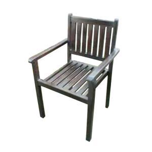 チェア ポピュラーシンプルスタッキングチェア 1脚 完成品 チーク モダン 椅子 室内向け 家具 インテリア e-housemania