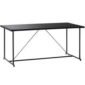 ガーデンテーブル 人工ラタン 屋外用 テーブル パティオプティ MA-ダイニングテーブル 4人掛けテ...