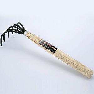 熊手 くまで レーキ 木柄 長柄忍者クマデ Garden Helper(ガーデンヘルパー) NK-2 園芸用品 ガーデニング 草取り 除草 土ならしに e-housemania