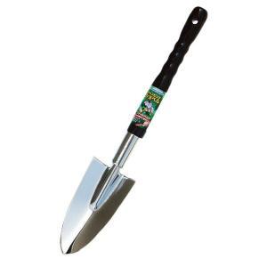 園芸用 スコップ シャベル 移植ごて スチール キャンピングショベル(細) Garden Helper C-4 本格派のガーデニング・園芸用品 しっかり握れて滑りにくい e-housemania
