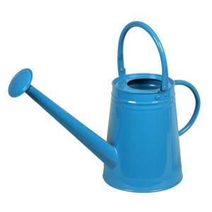 ジョウロ じょうろ ブルー W490×H370×D190 おしゃれ 園芸用品 ガーデニンググッズ 散水用品|e-housemania