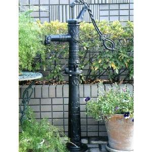 お庭にすてきな井戸ポンプを取り付けてガーデンアクセントに! 実際に使用可能なガーデン用ポンプです。 ...