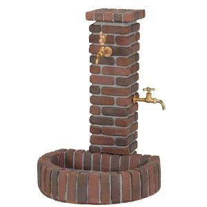 立水栓 水栓柱 ガーデニングガーデンブリンク立水栓 ビターブレンド 水回り ガーデン水栓柱 DIY|e-housemania
