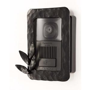 インターホンカバー アイアン インターフォンカバー1  装飾 エクステリア 外構工事 リフォーム|e-housemania