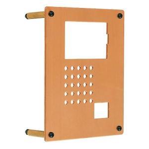 インターホンカバー 銅 シンプルスタイル インターフォン カバー 銅 装飾 エクステリア|e-housemania