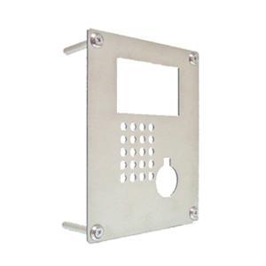 インターホンカバー ステンレス シンプルスタイル インターフォン カバー ステンレス 装飾 エクステリア 手作り|e-housemania
