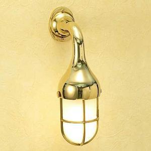 室内 LED 照明 マリンライト br2075 くもりガラス インテリア 照明 壁付 ブラケット 照明 真鍮 照明器具 おしゃれ|e-housemania