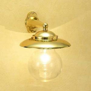 室内 照明 マリンライト br2071 クリアータイプ インテリア 照明 壁付 ブラケット 照明 真鍮 照明器具 おしゃれ|e-housemania
