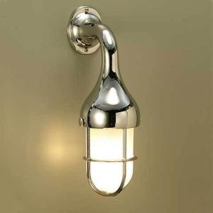 室内 LED 照明 マリンライト br2075cr くもりガラス インテリア 照明 壁付 ブラケット 照明 真鍮 照明器具 おしゃれ|e-housemania