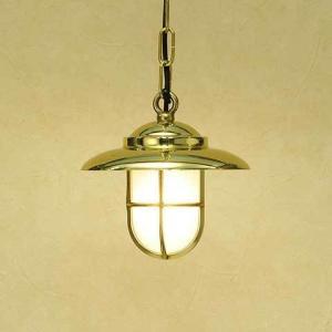 室内 照明 LED マリンライト p2060H くもりガラス インテリア 照明 ペンダントライト 天井照明 真鍮 照明器具 おしゃれ|e-housemania