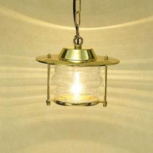 室内 照明 マリンライト p2058H クリアータイプ インテリア 照明 ペンダントライト 天井 照明 真鍮 照明器具 おしゃれ|e-housemania