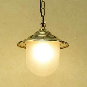 室内 照明 LED マリンライト p2130H くもりガラス インテリア 照明 ペンダントライト 天井 照明 真鍮 照明器具 おしゃれ|e-housemania