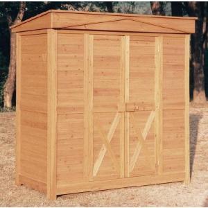 物置 木製物置 屋外用 木製物置 ガーデンストア1911 天然木材物置収納 ガーデニンググッズ ガーデンファニチャー|e-housemania