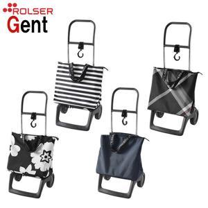 ショッピングカート ROLSER ロルサー GENT ジェント 袋付き 折り畳み式 高齢者 敬老の日 贈り物|e-housemania