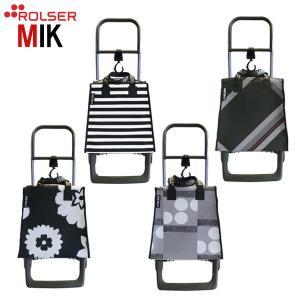 ショッピングカート ROLSER ロルサー MIK ミック 袋付き 折り畳み式 高齢者 敬老の日 贈り物|e-housemania