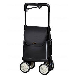 ウォーキングキャリー iカートネオ 須恵廣工業 ブラック ショッピングカート 高齢者 敬老の日 贈り物 e-housemania