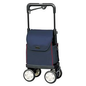 ウォーキングキャリー iカートネオ 須恵廣工業 ネイビー ショッピングカート 高齢者 敬老の日 贈り物 e-housemania