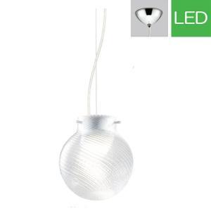 ペンダントライト LED op252213P1 ガラス(透明・斜めモール) 室内照明 天井照明 リビング 照明 間接照明 室内ライト 吊り下げライト モダン LED電球色|e-housemania