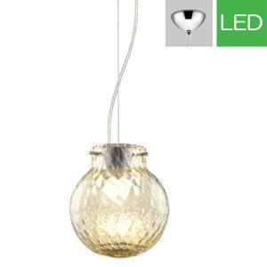 ペンダントライト LED op252215P1 ガラス(タン色・網目モール) 室内照明 天井照明 リビング 照明 間接照明 室内ライト 吊り下げライト モダン LED電球色|e-housemania