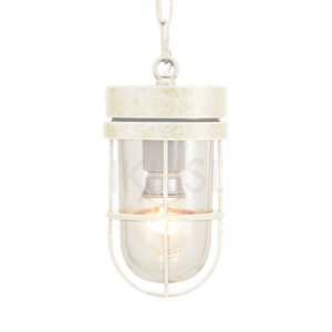 屋外照明 玄関 照明 軒下 外灯 屋外対応 LED マリンランプ ペンダントライトP6000 WAB CL LE 古白色 ガーデンライト真鍮製 照明器具|e-housemania
