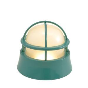 屋外照明 玄関照明 玄関 照明 門柱灯 門灯 外灯 屋外 LED マリンランプ BH1000LOW MG FR LE メイグリーン 壁面 天井 床面 照明器具|e-housemania
