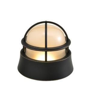 屋外照明 玄関照明 玄関 照明 門柱灯 門灯 外灯 屋外 LED マリンランプ BH1000LOW BK FR LE ブラック 壁面 天井 床面 真鍮製 照明器具|e-housemania