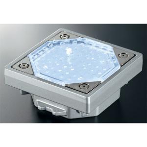 屋外照明 ソーラーライト LED 照明 埋込 駐車場 ライト 外灯 角型 ソーラータイル TL-S1...